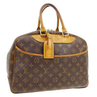 LOUIS VUITTON DEAUVILLE BUSINESS HAND BAG PURSE MONOGRAM VINTAGE M47270 A49151