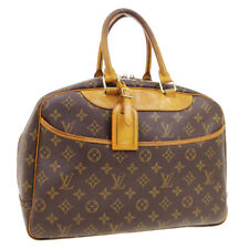 LOUIS VUITTON DEAUVILLE BUSINESS HAND BAG PURSE MONOGRAM VINTAGE M47270 A49151