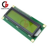 5PCS 1602 16x2 HD44780 Character LCD Display Module LCM Yellow Backlight NEW