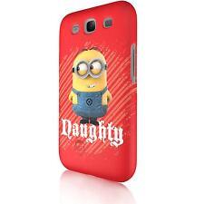 """Minion """"Naughty""""  Tasche Cover Case Schutzhülle für Samsung Galaxy S3 i9300"""