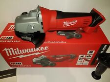 MILWAUKEE HD18AG115-0 18v LI ION CORDLESS ANGLE GRINDER HEAVY DUTY TOOL NEW