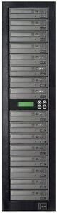 MediaStor #a10 1-15, 1 to 15 Target 24X DVD LiteOn Burner Duplicator Replication