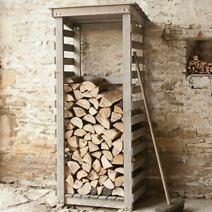 NQP GARDEN TRADING Aldsworth City Log Store Spruce LSWO02 Ref 1