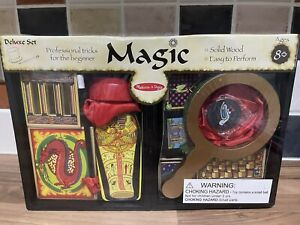 Melissa & Doug Deluxe Magic Set - 10 Professional Tricks - Kids Ages 8 Years +