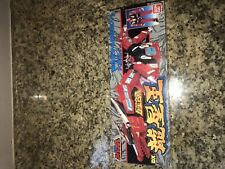 Power Ranger Red Dragon Japanese Version New With Sticker Set