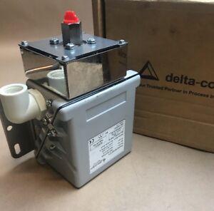 Pressure Switch W20102CP04A Delta Controls 0.2-4bar.SER.NO.W503707/1*2-Brand New
