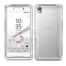 Fundas y carcasas brillantes de color principal transparente para teléfonos móviles y PDAs Sony