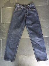 Levis 618 Orange Tab Damen dunkelblau schwarz Denim High Waist tapered Jeans VGC