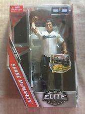 WWE Mattel Elite Series 50 Shane Mcmahon with Shirt & Breakaway Table MOC