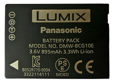 Genuine Panasonic DMW-BCG10E Original Battery TZ20 TZ6 TZ7 TZ8 TZ9 TZ10 TZ19 ZS3