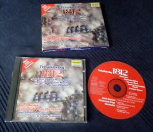 CD DSD Erich Kunzel Cincinnati Tchaikowsky 1812 TELARC Pure Digital  NO SACD!!