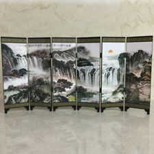 48*24*0.6cm Mini Folding Panel Screen Chinese-Style Vintage Home Room Dividers