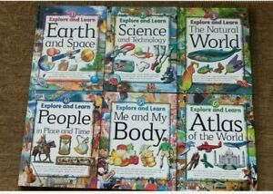 Lot of 6Southwestern EXPLORE AND LEARN Books Earth Space Science Technology Body