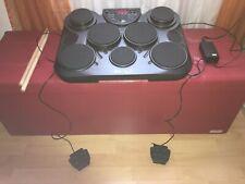 XDrum DD-150 E-Drum schwarz, e-drum set gebraucht.
