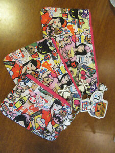 tokidoki bags set 3 pouches X sephora i love la Diner Drive In cosmetic zippered