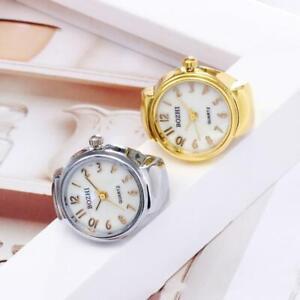 Gold Digital Ring Watch Universal Decoration