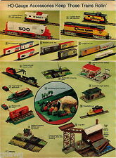 1974 ADVERT 3 PG Lionel Electric Toy Train Sets HO Gauge