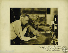 WILLIS O'BRIEN Signed Photograph - Film Star Special Effects / Animator preprint
