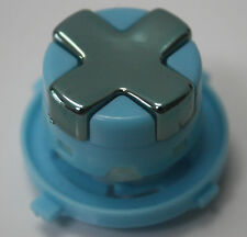 Chrome Grey w/ L-Blue Transforming D-pad for Xbox 360 Controller(Rotating Dpad)