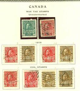 Stamp  Canada War tax 1916