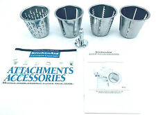 4 Piece Lot -Kitchen Aid RVSA Rotor Slicer Shredder Replacement Parts Cones Only