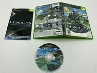Microsoft OG Xbox Tested Complete CIB Halo Combat Evolved SPANISH VERSION RARE