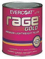 Fibreglass Evercoat 112 Rage Gold Premium Lightweight Body Filler - 1 Gal.