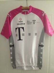 Deutsche Telecom Vintage Cycling Jersey Shirt Retro Nalini RARE Mens Size