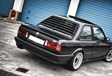 BMW E30 REAR WINDOW LOUVER SPOILER DRIFT