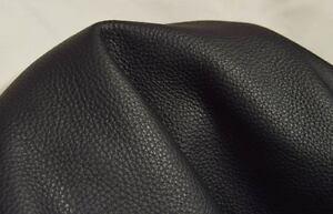Rindsleder Nappa schwarz 1,2-1,4 mm Wunschgröße Taschen-Leder Möbelleder #w002