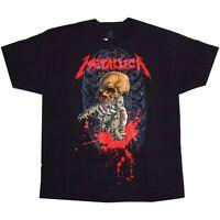 Metallica Alien Birth Pushead Black T Shirt New Official Licensed Finish Him