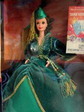 Barbie Gone With The Wind Scarlett In The Green Velvet Dress Curtain Dress