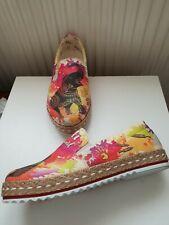 GOBY Elefant Holi Festival Espadrille Shoes Size 3/36