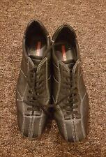 women Prada leather trainers size 5.5 eu38.5 excellent condition authentic