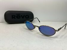 Revo 1111/011 Blue Tint Polarized Sunglasses Made in Japan with Case
