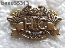 """NEW"" HARLEY DAVIDSON OWNERS GROUP HOG H.O.G. EAGLE CLAW  VEST JACKET PIN"