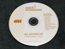 Anita Goodesign Embroidery Designs( CD ONLY) ALL ACCESS VIP Club FEBRUARY 2015