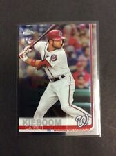 2019 Topps Chrome Update Carter Kieboom #22 RC Nationals Rookie Debut #59