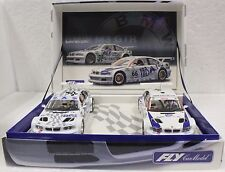 FLY 88030 BMW M3 GTR CAJA ESPECIAL 2 CAR SET NEW 1/32 SLOT CARS *RARE*