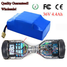 "36V 4.4Ah 4400mAh Li-ion de la batería para 6,5 ""7"" 8 ""2 ruedas Scooter"