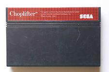 CHOPLIFTER sur Sega MASTER SYSTEM