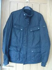 "Barbour Black Quilted Mens Jacket Size S 36"" Chest (Ref O) Good Condition"