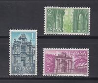 SPAIN  (1966 ) MNH COMPLETE SET - SC SCOTT 1388/90 MONASTERY JEREZ