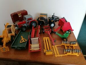 Tractor Trailer Farm Models, Britain's, etc - used, for spares or restoration