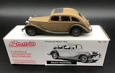 Somerville Handcrafted 1/43 White Metal 129 Riley Kestrel In 2 Tone Brown - Mint
