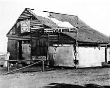 New 8x10 Civil War Photo: Embalming Barn in Fredericksburg, Virginia