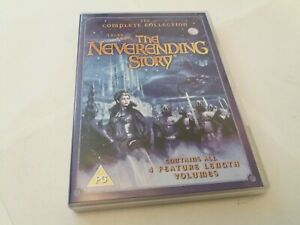 Tales From The Neverending Story Complete Collection Vol 1 2 3 4 UK R2 DVD