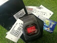 CASIO G-SHOCK Black and Red AR Series GW-B5600AR-1