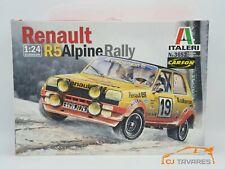 ITALERI KIT RENAULT R5 ALPINE #19 WRC MONTE CARLO 1978 1/24
