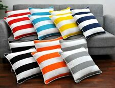 Decorative Cabana  Pillow Cover Cushion Cover Pillow Cases 18 x 18, Set of 2,